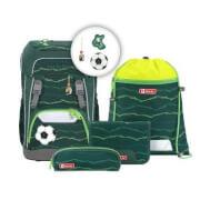 GIANT Schulrucksack-Set Soccer Star, 5-teilig