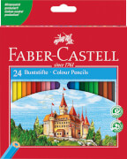 Faber-Castell Buntstift Castle hexagonal 24er Karton