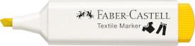 Faber-Castell Textilmarker gelb