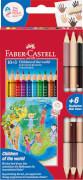 Faber-Castell Children of the world 10+3 Colour Grip