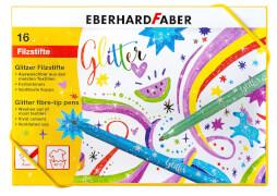 Eberhard Faber Filzstifte Glitzer 16er Geschenkkarton