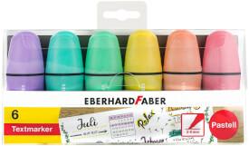Eberhard Faber Mini Highlighter pastell 6er Etui