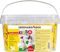 Eberhard Faber EFA PLAST classic Kids 3kg weiß im Eimer