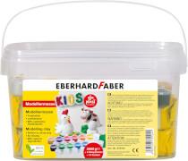 Eberhard Faber EFA PLAST Kids 2kg weiß + 14 Farben