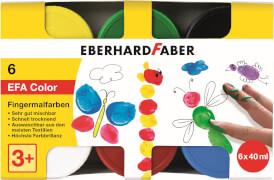 Eberhard Faber Fingerfarben EFA Color 40ml 6er Etui