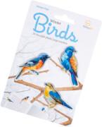 Stikki Marks Winter Birds - 30 Mini-Lese