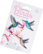 Stikki Marks Humming Birds - 30 Mini-Les