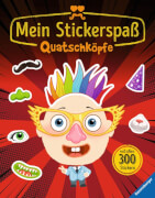 Ravensburger 022496 Mein Stickerspaß: Quatschköpfe