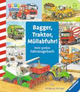Ravensburger 02176 Bagger, Traktor, Müllabfuhr!