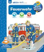 Ravensburger 023837  Wieso?Weshalb?Warum? Aktiv-Heft - Feuerwehr