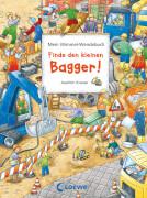 Loewe Pappebuch Wimmel-Wendebuch Bagger Ritterhelm