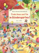 Loewe - Finde Anne und Tim im Kindergarten! /Finde Anna und Tim in den Ferien!