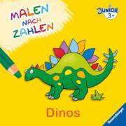 Ravensburger 027705 Malen nach Zahlen junior: Dinos