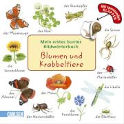 Blumen und Krabbeltiere
