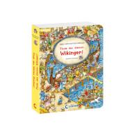 Loewe Pappebuch Wimmel-Wende-Buch Wikinger Drache