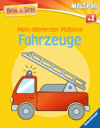 Ravensburger 025039  Mein allererster Malblock - Fahrzeuge