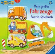 Ravensburger 40353 ministeps® - Mein großes Fahrzeuge Puzzle-Spielbuch