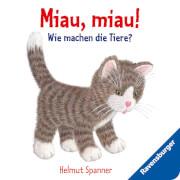 Ravensburger 43453 Miau, miau! - Wie machen die Tiere?