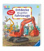 Ravensburger 43464 Bilderbuch: Entdecke die großen Fahrzeuge