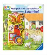 Ravensburger 43482 Mein großes Puzzle-Spielbuch Bauernhof