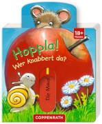 Mini-Pappe mit Schiebern: Hoppla! Wer knabbert da?