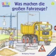 Ravensburger 43533 Bilderbuch: Was machen die großen Fahrzeuge?