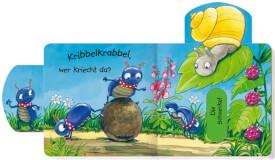 Mini-Pappe mit Schiebern: Kribbelkrabbel, wer läuft da?