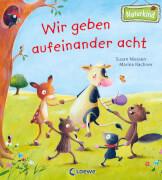 Loewe Pappebuch Wir geben aufeinander acht (Naturkind)