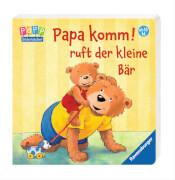 Ravensburger 43565 Bilderbuch: Senner, Papa komm! ruft der Bär