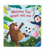 Ravensburger 43579 Kinderbuch: Welches Tier spielt mit mir?