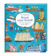 Ravensburger 44673 Mitgutsch, Rund uministeps® Schiff