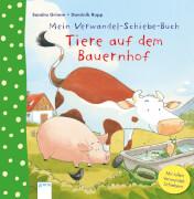 Arena Mein Verwandel-Schiebe-Buch: Tiere auf Bauerhof
