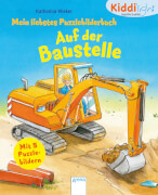 Arena Kiddilight Mein liebstes Puzzlebilderbuch - Auf der Baustelle