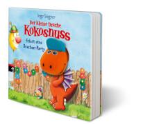 Der kleine Drache Kokosnuss feiert eine Drachen-Party, Pappbilderbuch, 12 Seiten, ab 2 Jahren