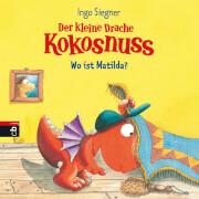 Der kleine Drache Kokosnuss - Wo ist Matilda, Pappbilderbuch, 16 Seiten, ab 2 Jahren