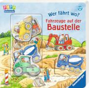 Ravensburger 43588 Bilderbuch: Wer fährt wo? Fahrzeuge auf der Baustelle