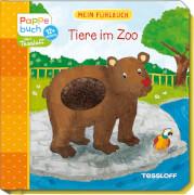 Mein Fühlbuch: Tiere im Zoo, Pappbilderbuch, 12 Seiten, ab 12 Monaten
