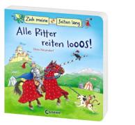 Loewe Pappebuch Zieh meine Seiten - Alle Ritter reiten los!
