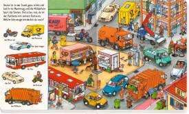 Bilder suchen - Wörter finden: Such mit bei den Fahrzeugen, Pappbilderbuch, ab 1 Jahr, 22 Seiten