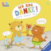 Ravensburger 43638 Bilderbuch: Ich sag Danke! Was sagst du?