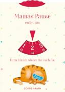 Parkscheibe ''Mamas/Papas Pause'' Familie im Glück