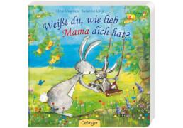 Weißt du, wie lieb Mama dich hat?, Pappbilderbuch, 16 Seiten, ab 12 Monaten