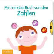 Ars Edition - Mein erstes Buch von den Zahlen, Pappbilderbuch, ab 1 - 3 Jahre, 12 Seiten