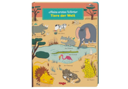 HABA Meine ersten Wörter  Tiere der Welt