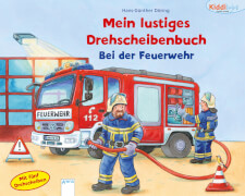 Arena Drehscheibenbuch Bei der Feuerwehr