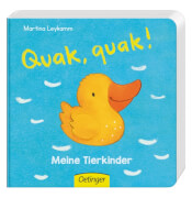 Quak, quak! Meine Tierkinder, Pappbilderbuch, 16 Seiten, ab 12 Monaten