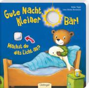 Gute Nacht, kleiner Bär! Machst du das Licht an?, Pappbilderbuch, 12 Seiten, ab 2 Jahren