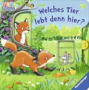 Ravensburger 43652 Bilderbuch: Welches Tier lebt denn hier?