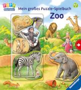Ravensburger 43653 Mein großes Puzzle-Spielbuch Zoo