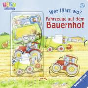 Ravensburger 43666 Bilderbuch: Wer fährt wo? Fahrzeuge auf dem Bauernhof